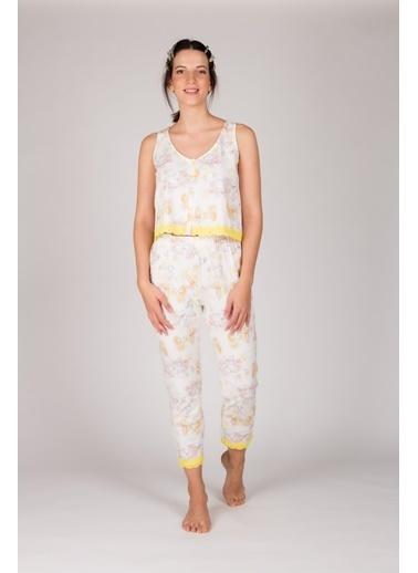Hays Pijama Takım Sarı